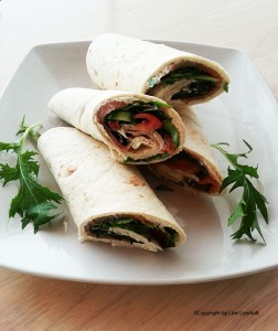 Wraps med laks2
